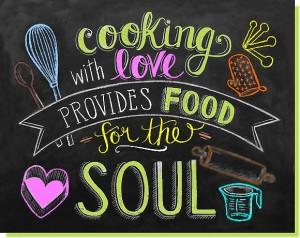 cuisiner avec amour